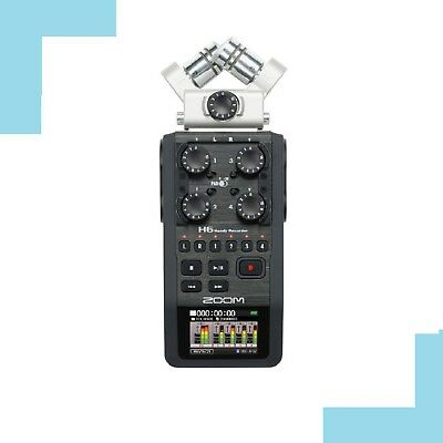 ZOOM H6 Handy Recorder Interchangeable Microphone Linear PCM Mic japan