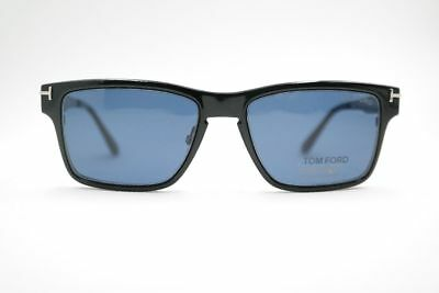 Tom Ford TF5475 Tanning Clip 54 17 140 Silver Oval Glasses Frames New