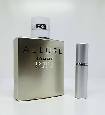 CHANEL - Allure Homme Edition Blanche EDP - 5ml SAMPLE Glass Decant Atomizer