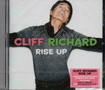 Cliff Richard - Rise Up      *new & Sealed 2018 Cd Album*
