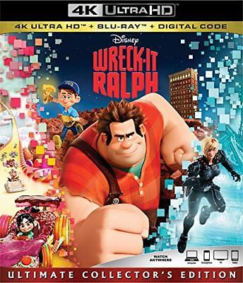 WRECK-IT RALPH (4K UHD+Blu-ray+4K Digital), with Slipcover