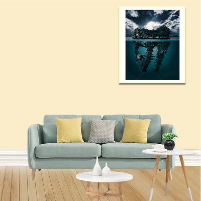 Mysterious island Canvas Oil Painting Poster Living Room Picture Wall Home Decor