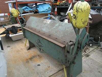 Edwards Metal Folder. Sheet metal folder 185cm x 1.2mm F.J.Edwards