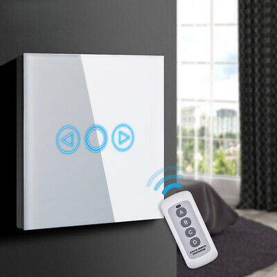 Smart Wireless Light Dimmable Wall Touch Switch Dimming Panel White LD1647