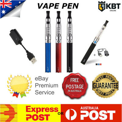 Electronic Cigarette Vape Starter Kit Pen e-cig Stop Smoking Quit Rechargeable