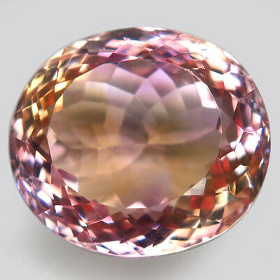 18.2ct.Sparkling Gem! 100%Natural Bi Color Ametrine Unheated Bolivia AAA Nr!.