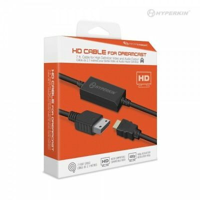 Hyperkin DreamCast HD Cable HDMI Connector for Sega DC DreamCast Game System