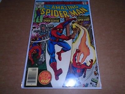 THE AMAZING SPIDER-MAN #167 Marvel Comics 1977 FN
