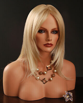 Mannequin Head with Shoulders - Wig Shop Display Brand new models Female & Male