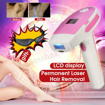 AU Painless Laser IPL Electric Hair Removal Machine Permanent Epilator Body Face