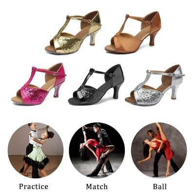 Ballroom Latin Salsa Tango Dancing Shoes High Heels 7CM For Girls Women Dance