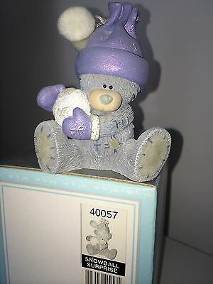"""LARGE 3.5/"""" HIGH BOXED ME TO YOU FIGURINE TATTY TEDDY BEAR ~ ALL AT SEA WITHOUT U"""