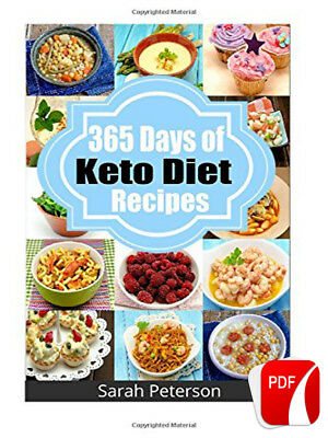 (PDF) Ketogenic Diet: 365 Days of Low-Carb, Keto Diet Recipes 1 Minute Delivery