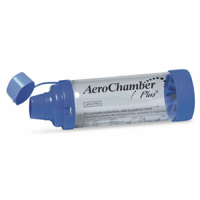 Aerochamber Plus Adult's Standard with Mouthpiece NEW & SEALED