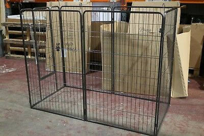 Doggy Style 6Pcs Heavy Duty Puppy Play Pen  Dog Cage Fence Ds-Hd03Xl
