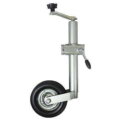 Andes Heavy Duty 48mm Split Clamp Jockey Wheel Wind Up Trailer Stand