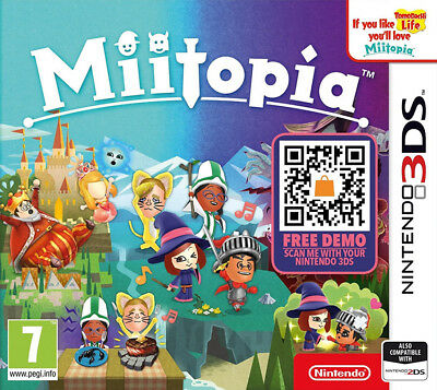 Miitopia (3DS)  BRAND NEW AND SEALED - IN STOCK - QUICK DISPATCH