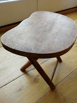 Vintage Nevco folding stool, footrest or plant stand