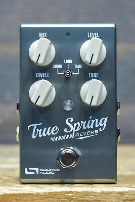 Source Audio One Series True Spring 3-Mode Spring Reverb / Tremolo Effect Pedal