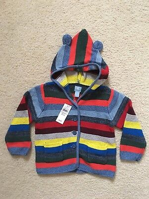 NWT Baby Gap Toddler Boy Girl Sweater Size 12-18 Months Super Cute! Org. $35