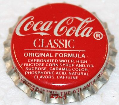 Coca-Cola Classic Kronkorken USA crown cork Atlanta bottling plant