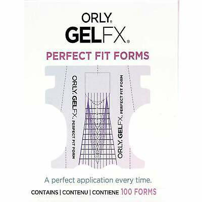 Orly - Perfect Gel FX Fit Forms - (100 Nail Forms) (3350004)