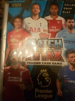 2018-19 Premier League Match Attax. ANY 10 FOR 99p (Max 3 Foils)