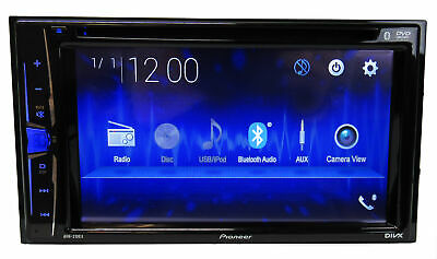 "Pioneer Double DIN 6.2"" Touchscreen Multimedia DVD Receiver w/ 50W x 4 Amplifier"