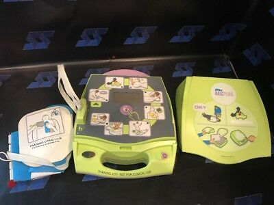 ZOLL AED PLUS AEDPlus Trainer Automatic External Defibrillator Cpr D-padz  Pads