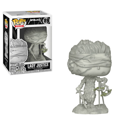 Funko POP Vinyl Rock ! Lady Justice  - #89 - METALLICA NEW !!!