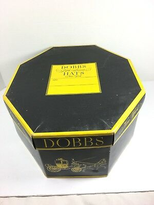 Vintage DOBBS Fifth Avenue Hats New York Box ONLY