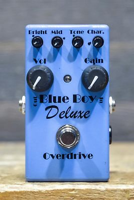 MI Audio Blue Boy Deluxe Overdrive 6-External Control Overdrive Effect Pedal