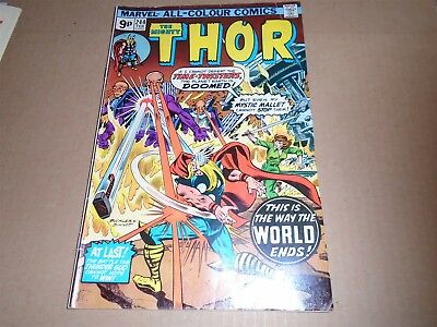 THE MIGHTY THOR #244 Marvel Comics 1976 FN-