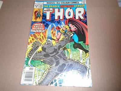 THE MIGHTY THOR #265 Marvel Comics 1977 VG