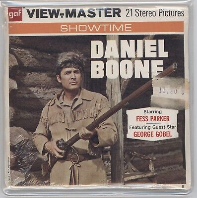 View-Master B479 DANIEL BOONE Sealed Unopened  *Free Shipping*