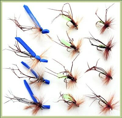 Trout Flies for Fly Fishing UK DADDY LONG LEGS  Hook Size 12 Fly Fishing