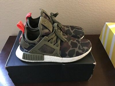 best loved c7290 4d8e7 ADIDAS NMD XR1 Green Duck Camo Size 9.5