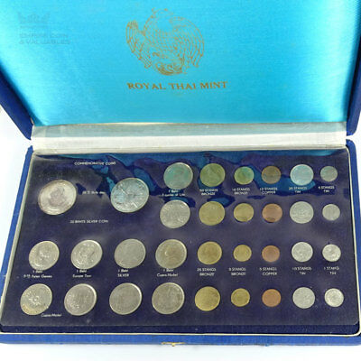 1963 Royal Thai Mint 32 Coin Commemorative Collection Set