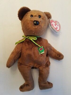 2981a45d00b TY BEANIE BABY - WILLIAM the Bear (Closed-Book Version - Europe Excl ...