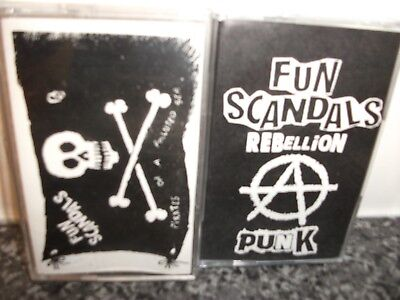 Fun Scandals 2 Cassette Demos/Sex Pistols/Sham 69/Uk Subs/GBH/The Clash/Punk/cd