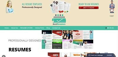 Resumes - CV Templates Online Job Service Business Home-Based Work From Home