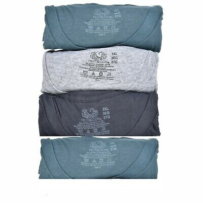 Fruit of the Loom Mens 4 Pack ASSORTED  Crew-Neck T-Shirts, Size  3XL