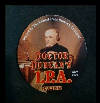Cain's Doctor Duncan's IPA pump clip front