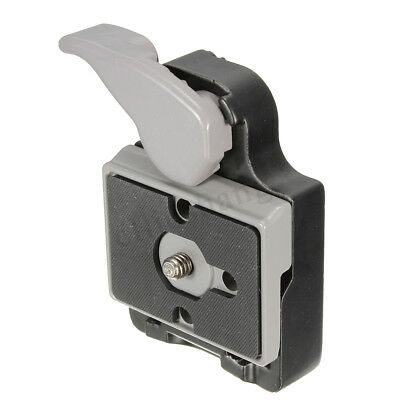 Quick Release Clamp Adapter Pro 323 With 200PL-14 QR Plate For Manfrotto Tripod