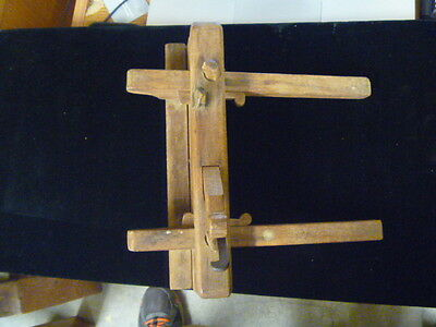 Vintage W.s. Plow Plane Possible Early 18Th Century
