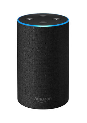 Amazon Echo (2nd Generation) Smart Assistant - Charcoal Fabric - NEW
