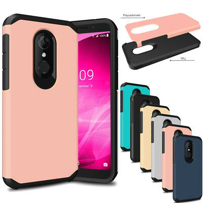 Slim Hybrid Shockproof Hard Cover Protective Case For Alcatel 3/T-mobile Revvl 2