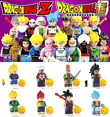 Minifigures Dragon Ball Super Broly For Collector Building Blocks Goku Fit Lego