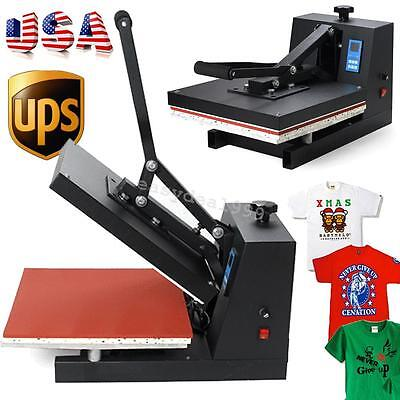 "15X15""Digital Transfer Sublimation T-Shirt Flat High Pressure Heat Press Machine"