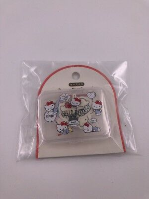 Sanrio Japan: Hello Kitty Stickers With Plastic Case (L3)